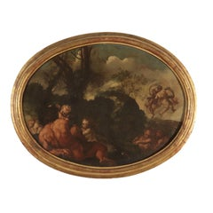 Vulcan with Cherubs Painting 18th Century
