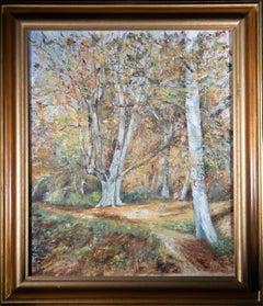W. Payne - Signed & Framed Mid 20th Century Oil, Burnham Beeches