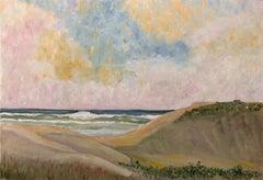 West Coast Sunset - Mid Century Landscape