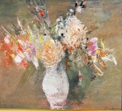White Flower Impressionist  Still Life