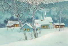 Winter Wonderland Watercolor