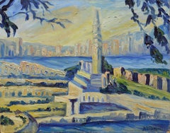 Mid Century Coit Tower, San Francisco Landscape