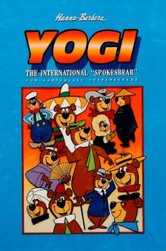 Yogi Bear Poster Illustration, 1987