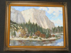 Yosemite Mount Painting by Sokol