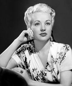 ' Betty Grable '  1940s HUGE Oversize Silver Gelatin print