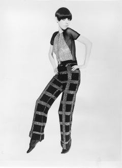 70s Fashion: Model in Style Vintage Original Photograph