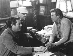 """Actor Marcello Mastroianni in """"Così come sei"""" - Vintage b/w Photograph - 1978"""