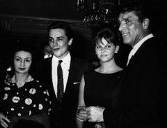 Alain Delon, Claudia Cardinale, Burt Lancaster - Vintage Photo - 1960s