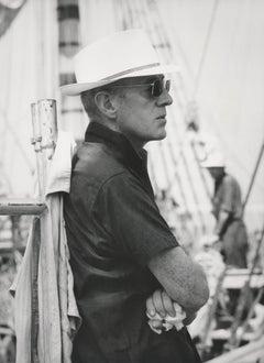 Alec Guinness on Dock Fine Art Print