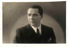 Alfonso Pravadelli Autographed Photograph - 1942