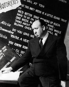 "Alfred Hitchcock ""Notorious"" Globe Photos Fine Art Print"