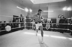 Ali In Training (1966) - Silver Gelatin Fibre Print