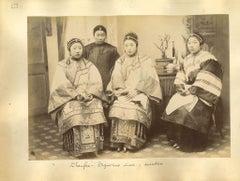 Ancient Chinese Costumes - Original Albumen Prints - 1890s