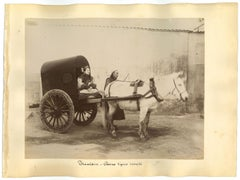 Ancient Chinese Ethnographic Photographs - Original Albumen Prints - 1890s