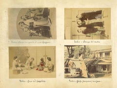 Ancient Japanese Ethnographic Photographs, Tokyo - Albumen Prints - 1880s/90s