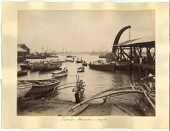 Ancient View of Colombo - Original Albumen Prints - 1880s/90s