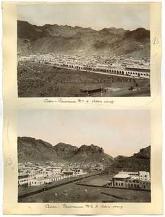 Ancient Views of Aden - Original Albumen Print - 1880s/90s