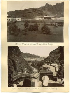 Ancient Views of Aden Photograph - Original Albumen Print - 1880s/90s