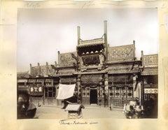 Ancient Views of Beijing - Original Albumen Print - 1890s