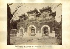 Ancient Views of Beijing - The Forbidden City - Original Albumen Print - 1890s