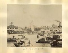 Ancient views of Canton - Original Albumen Prints - 1890s
