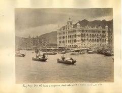 Ancient Views of Hong-Kong Photograph - Original Albumen Print - 1890s