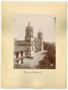 Ancient Views of Panama City - Original Vintage Photos - 1880s