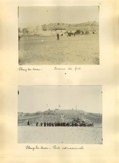 Ancient Views of Shan-Hai-Kuan Fortress  - Original Albumen Prints - 1890's