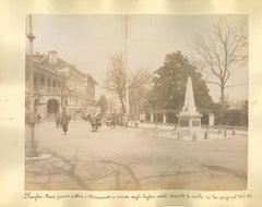 Ancient views of Shanghai - Original Albumen Print - 1890s
