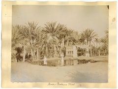 Ancient Views of Suez - Original Albumen Print - 1880s/90s
