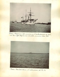 Ancient Views of Taku Forts - Original Albumen Prints - 1890s