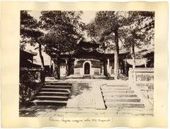 Ancient Views of the Imperial City of Beijing - Original Albumen Print - 1890s