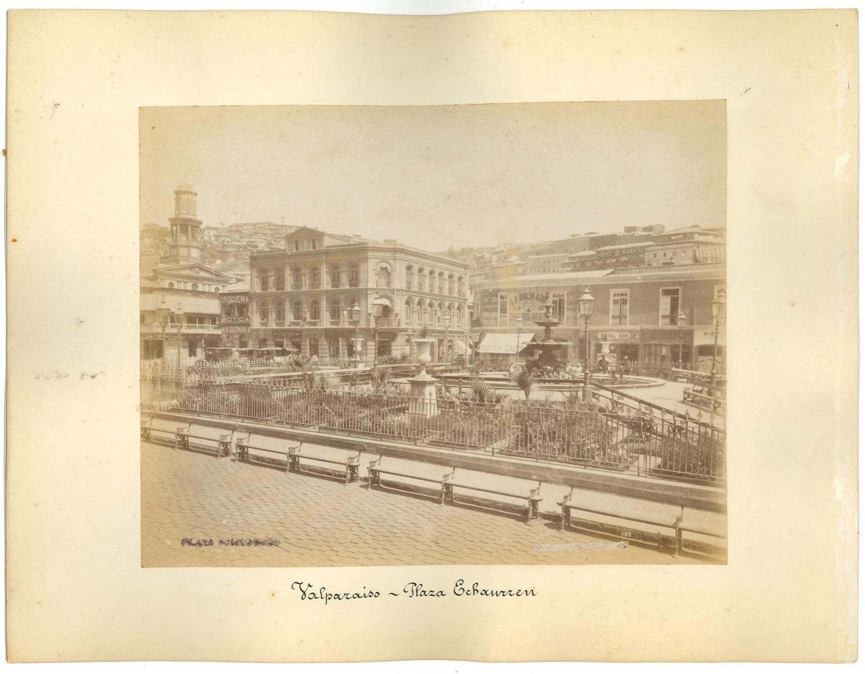 Ancient Views of Valparaiso - Original Vintage Photos - 1880s