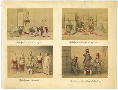 Ancient Views of Yokohama - Vintage Albumen Prints - 1890s