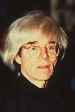 Andy Warhol Candid in Color Globe Photos Fine Art Print