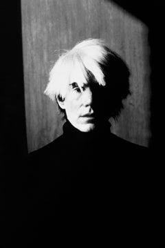 Andy Warhol Dramatic Portrait Globe Photos Fine Art Print