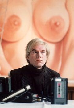 Andy Warhol in Germany Globe Photos Fine Art Print