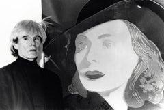 Andy Warhol in Los Angeles Vintage Original Photograph