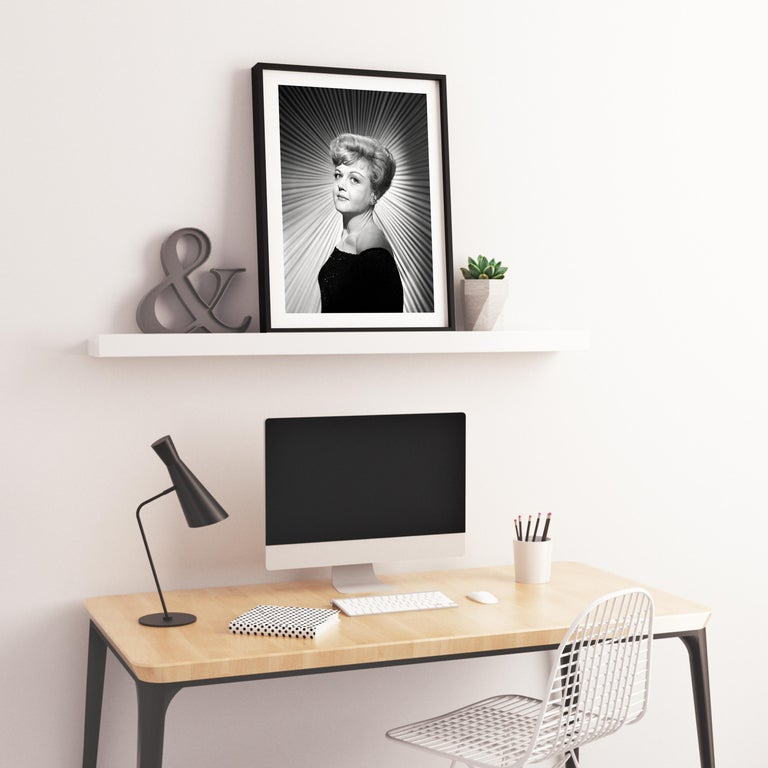 Angela Lansbury Stunning Studio Portrait Fine Art Print For Sale 2