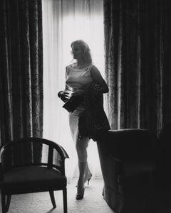 Anita Ekberg in Hotel Room Globe Photos Fine Art Print