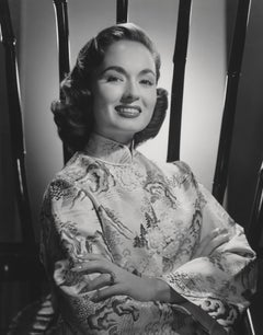 Ann Blyth Smiling with Arms Crossed Globe Photos Fine Art Print