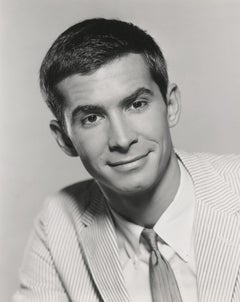 Anthony Perkins: Star of Psycho in the Studio Fine Art Print