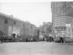 Arc of Janus II - Disappeared Rome - Original b/w Photograph - 1929