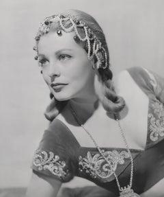 Arlene Dahl Classic Glamour Fine Art Print