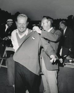 Arnold Palmer and Jack Nicklaus: Candid Golf Legends Fine Art Print