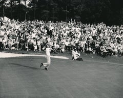 Arnold Palmer Wins the Masters of the 18th Hole Fine Art Print