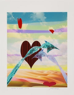 Arrows in Love  2018  Signed, Titled, and Dated