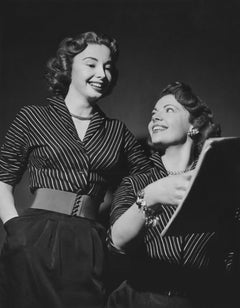 Audrey and Jayne Meadows: Famous Television Sisters Fine Art Print