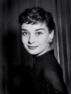 Audrey Hepburn Classic Smile Globe Photos Fine Art Print