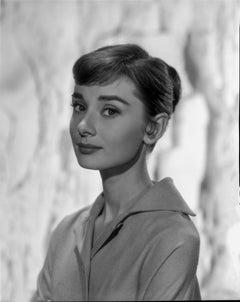 Audrey Hepburn Classical Portrait Fine Art Print